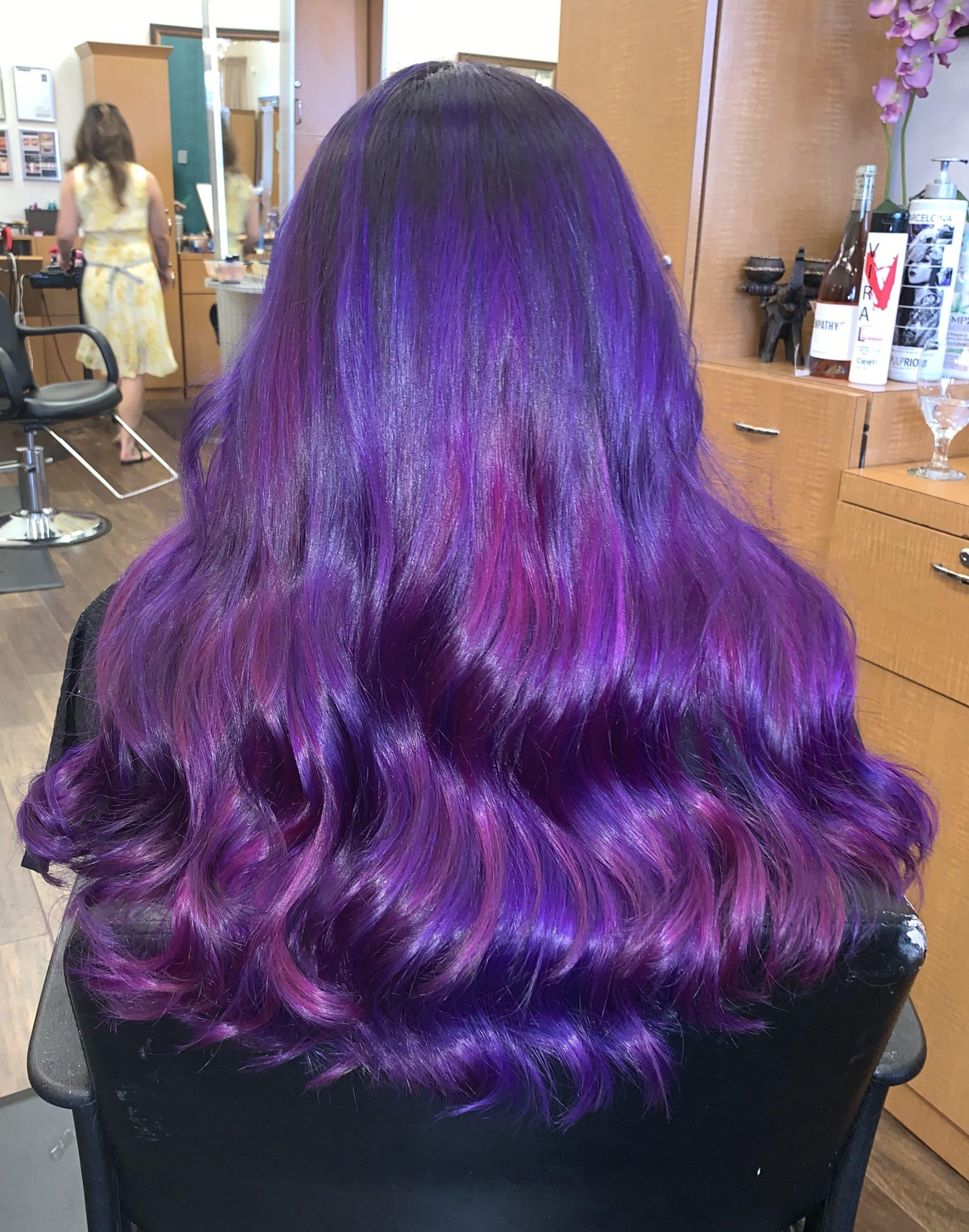 vivid hair dye
