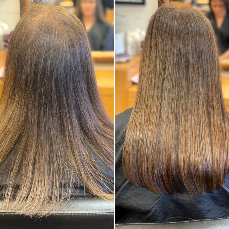 fine hair extensions